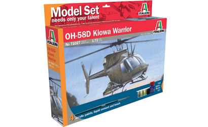 510071027 - AH 58D Kiowa Warrior Modellsatz Set