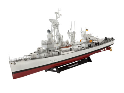 Artikel-Bild-05097 - German DESTROYER CLASS 119 (Z1 Z5)