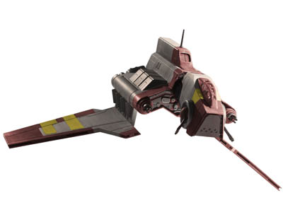 06672 - Republic Attack Shuttle (Clone Wars)