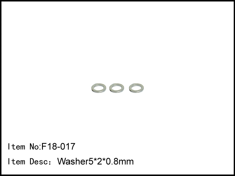 Artikel-Bild-F18-017 - Washer5*2*0.8mm Diff Thrust Plate (3pcs)