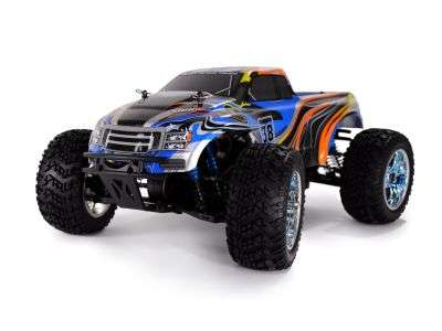 Artikel-Bild-22097 - Monstertruck Crazist 2,4 GHz RTR Set blau