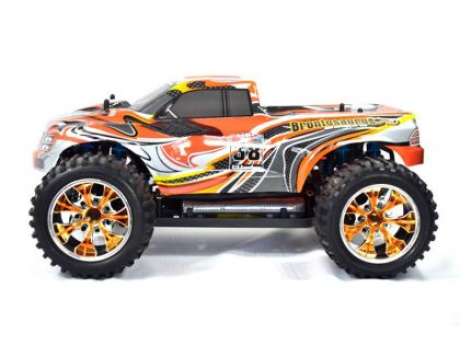 Artikel-Bild-10110Pro-4 - Haube 1:10 Monstertruck orange