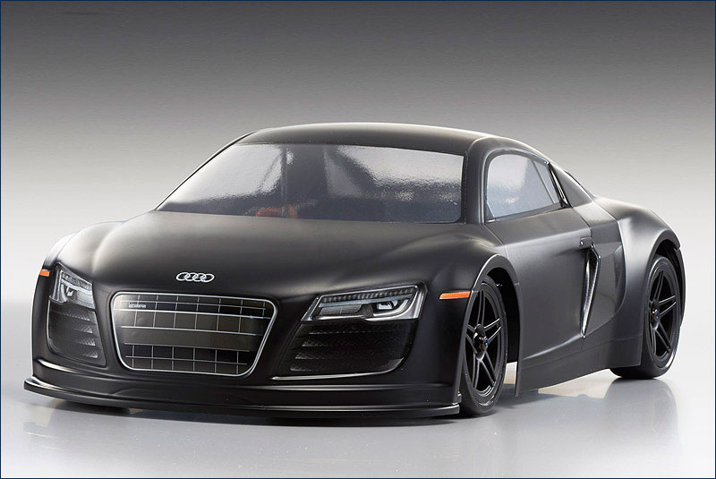 autos e modelle autos on road 1 10 30916 kyosho brushless ep fazer audi r8 matt schwarz. Black Bedroom Furniture Sets. Home Design Ideas