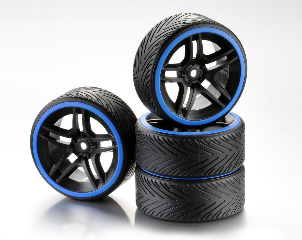 2510051 - Drift Reifenset Absima blau 4Stck