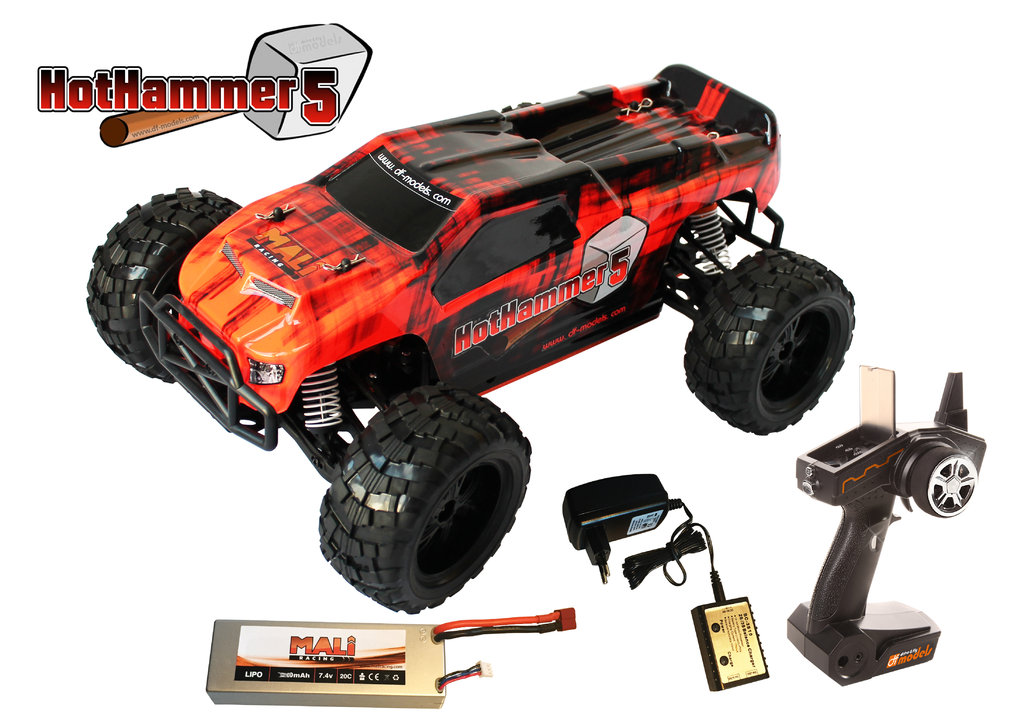 Artikel-Bild-3076 DF Models Hot Hammer 5 BL RTR Set
