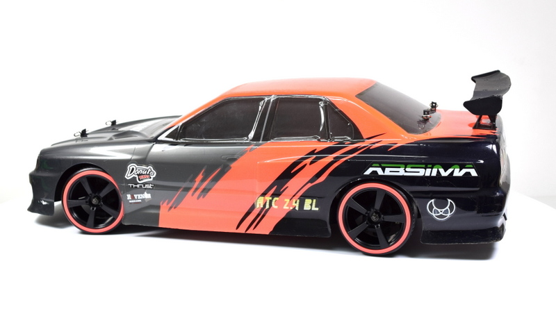 Artikel-Bild-Absima Hot Shot EP Touring Car ATC 2.4 BL + Driftreifenset
