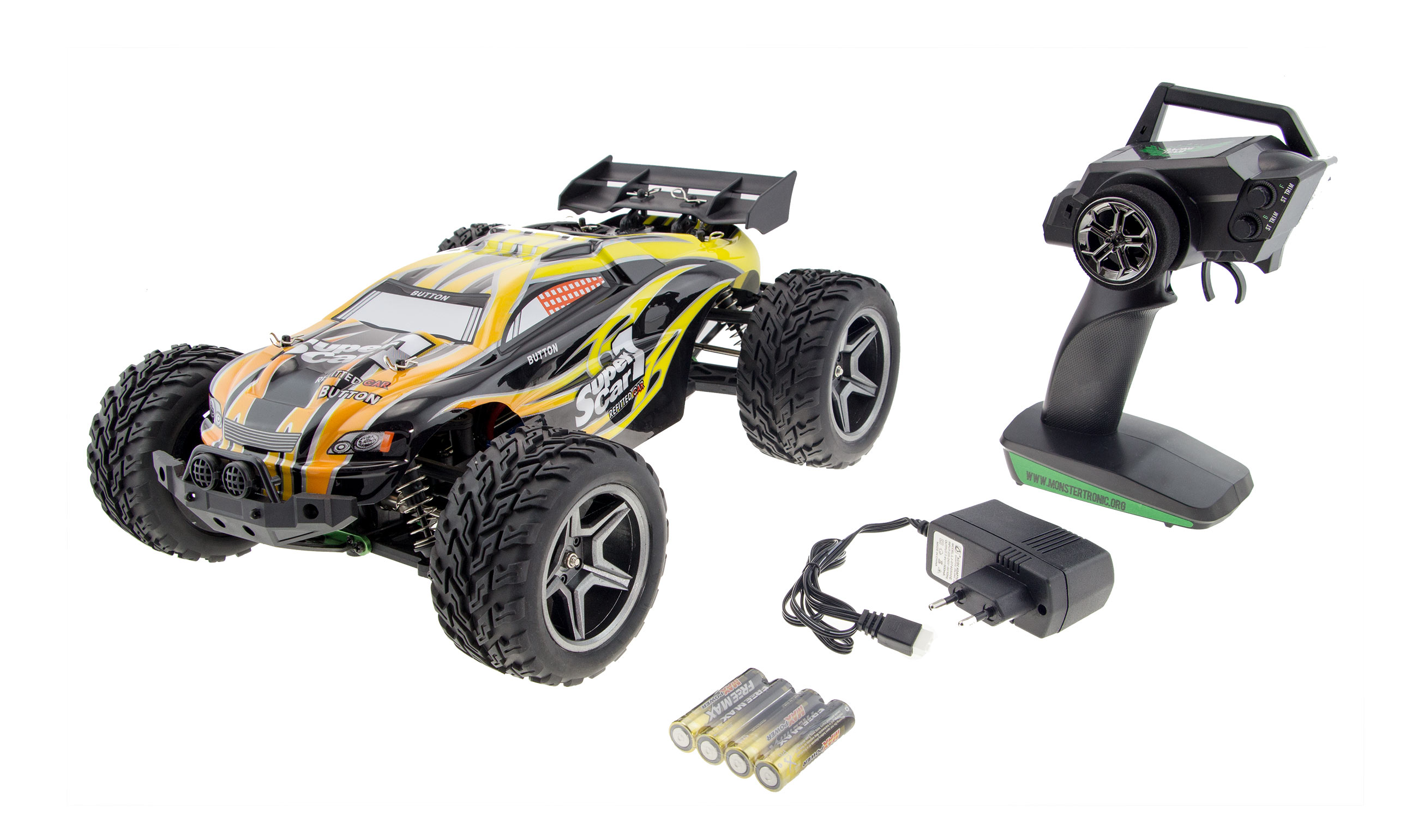MT2044 Monstertronic Truggy 4WD RTR Set