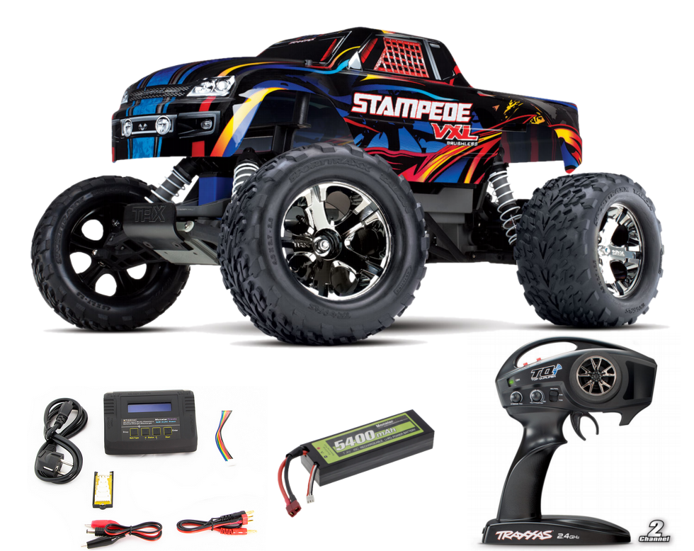 Traxxas Stampede brushless Readyset